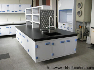 Anti-corrosion Lab Countertops With PP Cabinet For Factory Lab Equipment