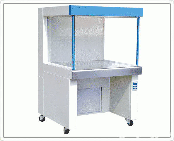 Laboratory Vertical Laminar Flow Clean Bench Air Purification Class 100 Type