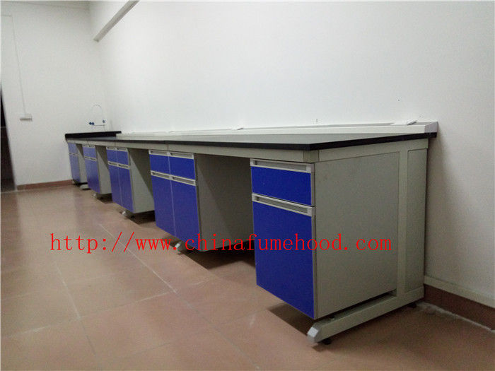 Resistant TO Strongest Corrosion / Acid / Alkali Chemistry Laboratory Casework Furniture for Research Laboratory