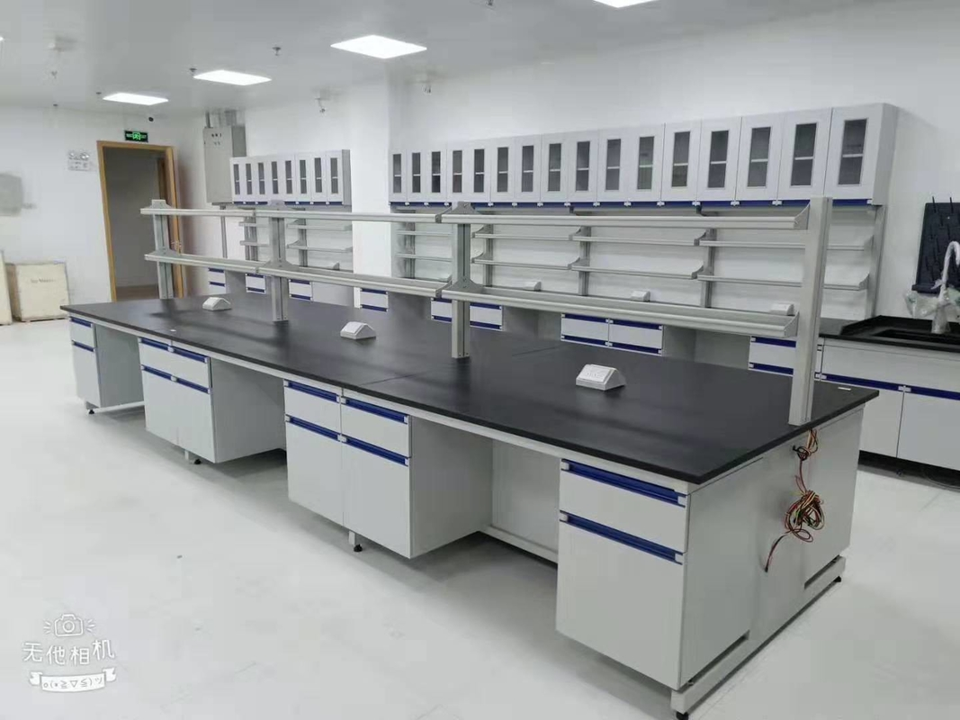 Durable Anti Alkali Chemistry Lab Furniture / Science Lab Benches