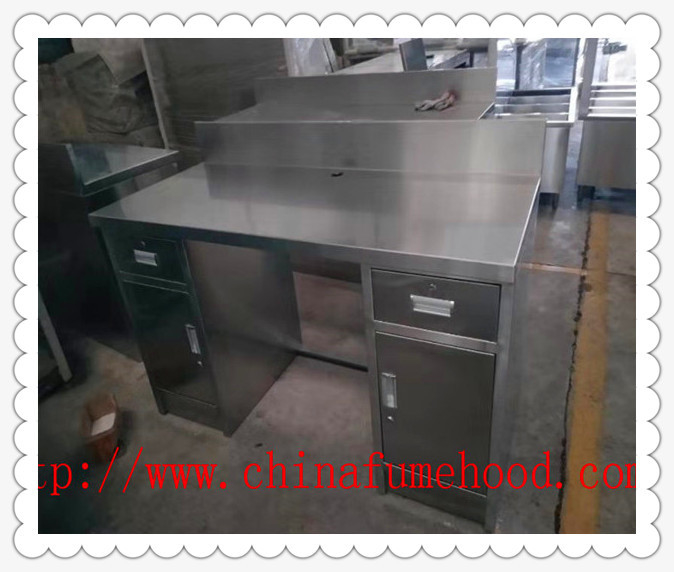 Chemical Stainless Steel Lab Furniture Metal Laboratory Cabinets Workstation